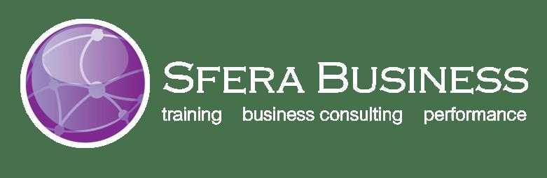 Sfera Business Logo Negative